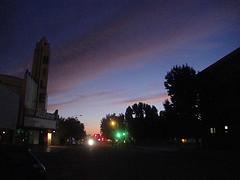 Sunset on 19th