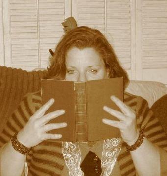 Birthday Alert! I love sniffing old books
