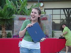 Emma z gets an award