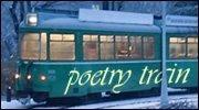 Poetry train logo