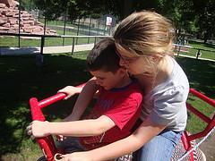 Emma helps samuel