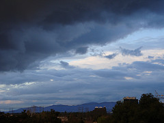 Clouds over burbank