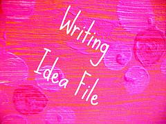 Writing idea file