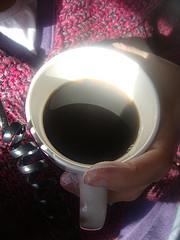 Coffee writing group