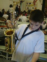 Samuel saxophone