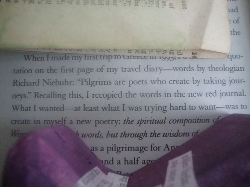 Pilgrims are poets