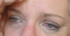 Eyebrows sad