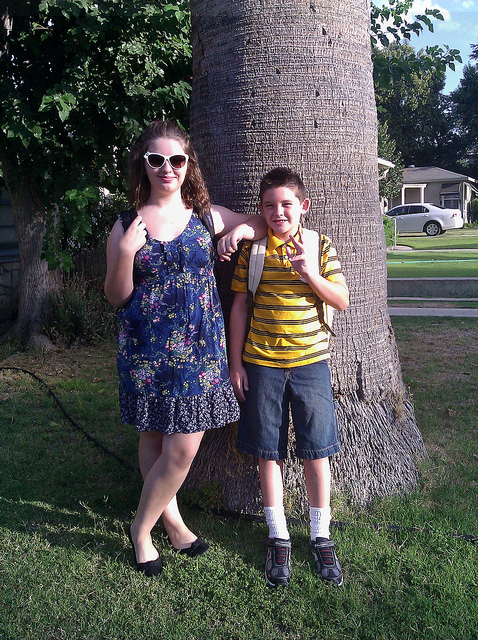 First Day, Emma and Samuel