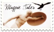 Magpie tales statue stamp 185