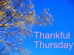 Thankful thursday jjs edition