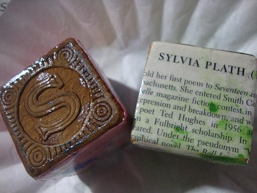 Sylvia plath block