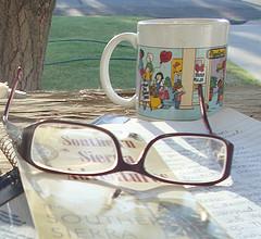 Glasses gratitude
