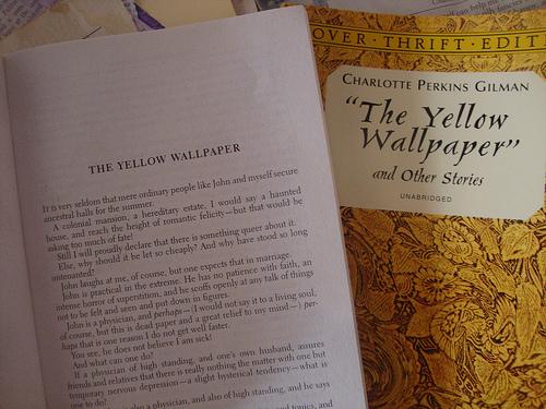 Yellow wallpaper books
