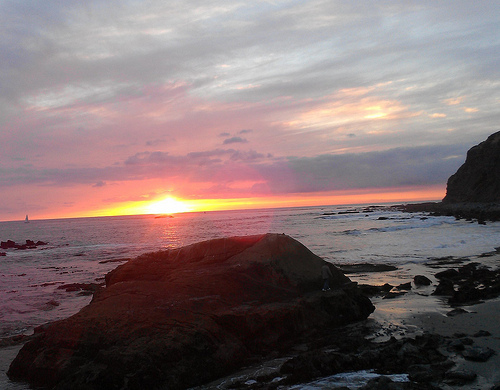 December Sunset Dana Point