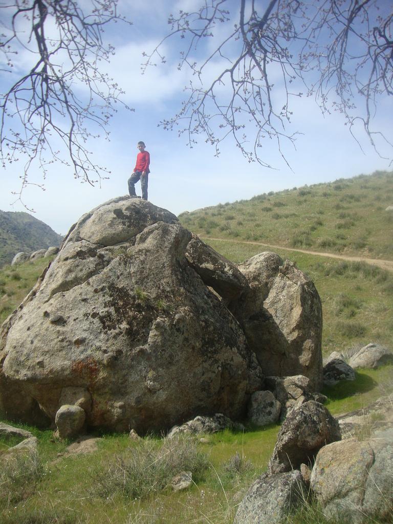 Samuel climbs