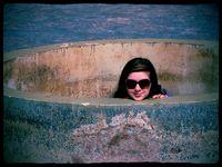 Emma in fountain boost medium