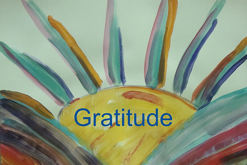 Gratitude end of reverbing