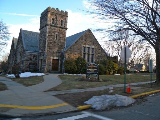 Smaller outdoors of church