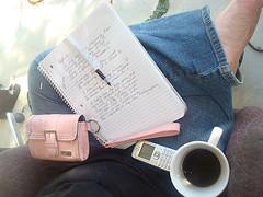 Coffee writing small