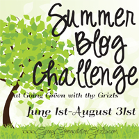 Summer Blog Challenge Button