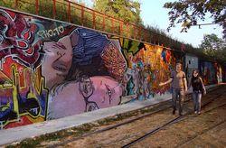 Pho to graffiti art