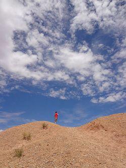 Samuel alone in Utah