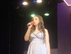 Katherine sings