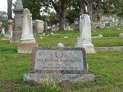 Ina Coolbrith gravesite