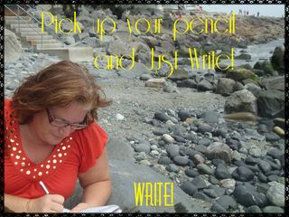 Some people waste writing time by debating where, how, when and with what to write. Don't waste time! Just write!