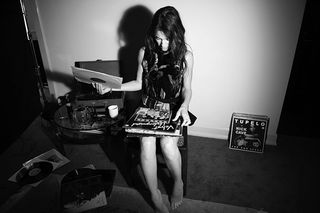 Image prompt from Magpie Tales: Charlotte Gainsbourg  AnOther