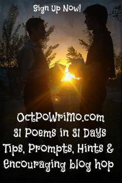 Michael and My Son - OctPoWriMo