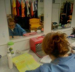 Writing Backstage