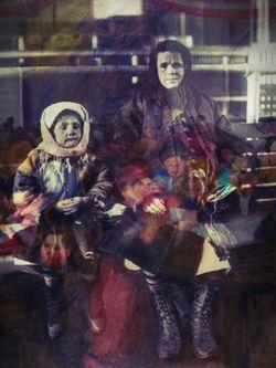 Ellis Island Ricker + Mother and Child