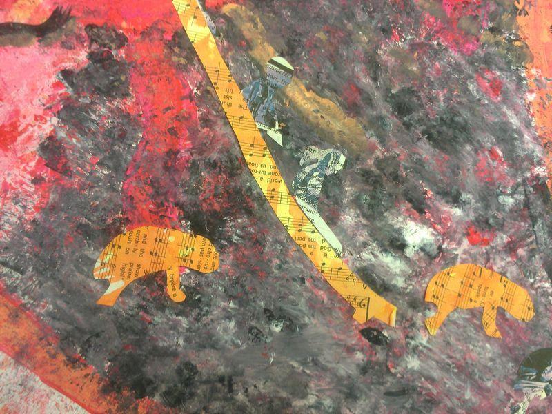 Mixed Media - Melanoma Art Journal (WIP)
