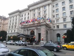 The Fairmont Hotel in December 2012