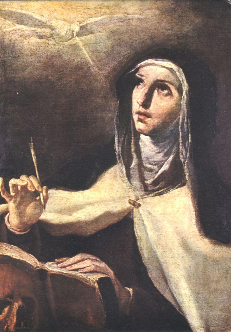 Teresa of avila writing from God