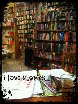 "I sat in a cool, independent bookstore in Echo Park called ""Stories"" and wrote letters one February Friday night."