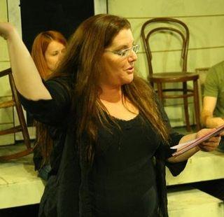 Me, performing