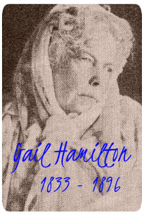 Gail hamilton with name and dates