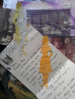 Collage Ellis Islan Women Peck letter