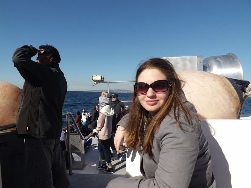 Whale watching with Katherine