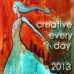 I participate in the Creative Every Day Challenge with Lea