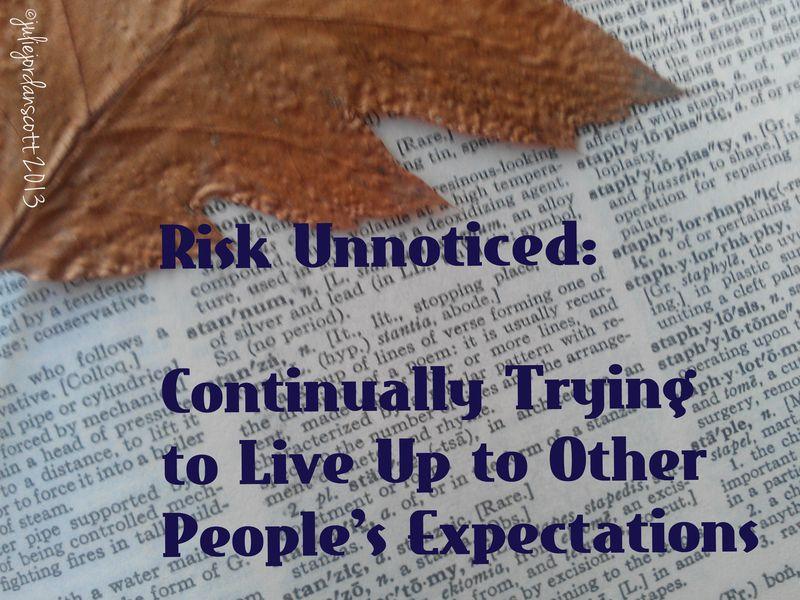 Risk unnoticed