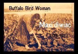 Buffalo bird woman with name etc