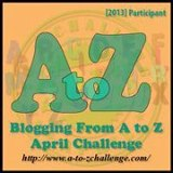 A to Z Badge 2013