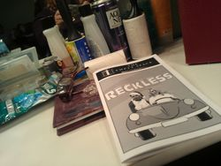 Program for Reckless at the Empty Space