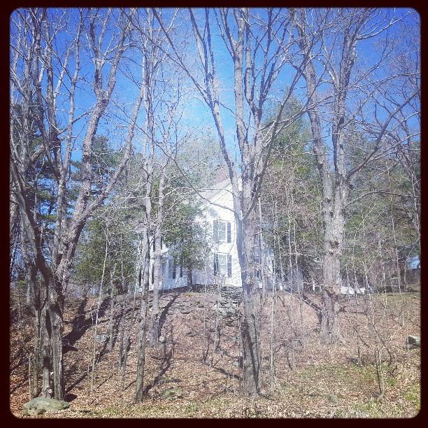 Millay's Home  Steepletop in the Berkshires
