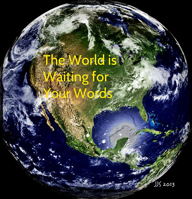World is Waiting for Your Words