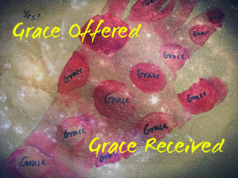 Grace offered and received