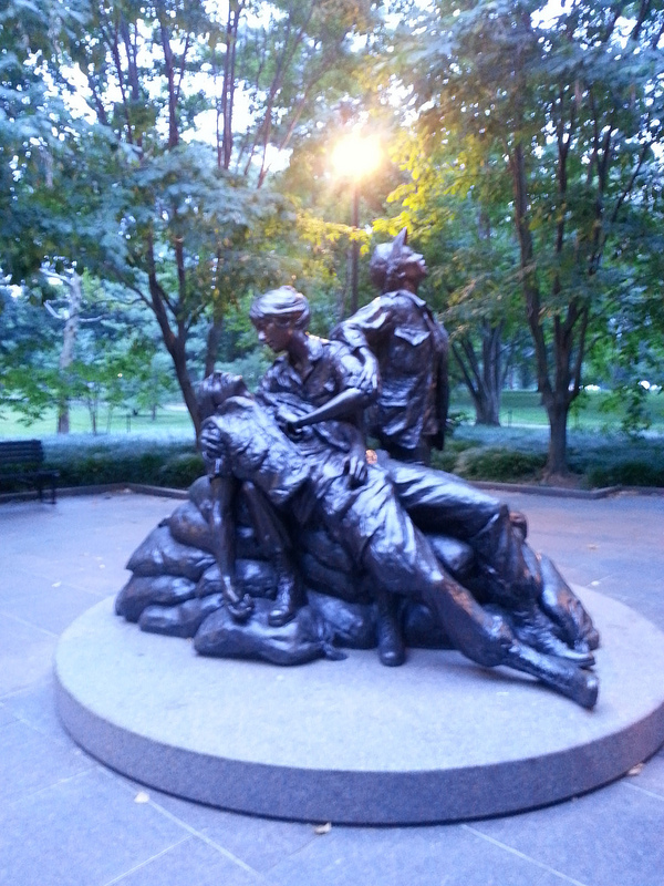 Monuments by moonlight nurses